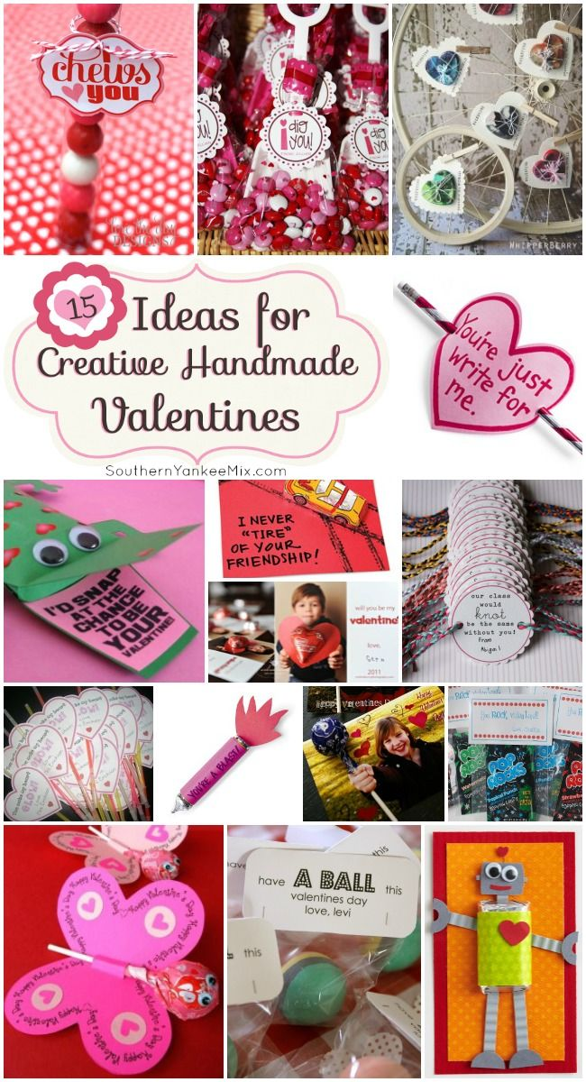 15 Ideas For Creative Handmade Valentine S Cards With Images