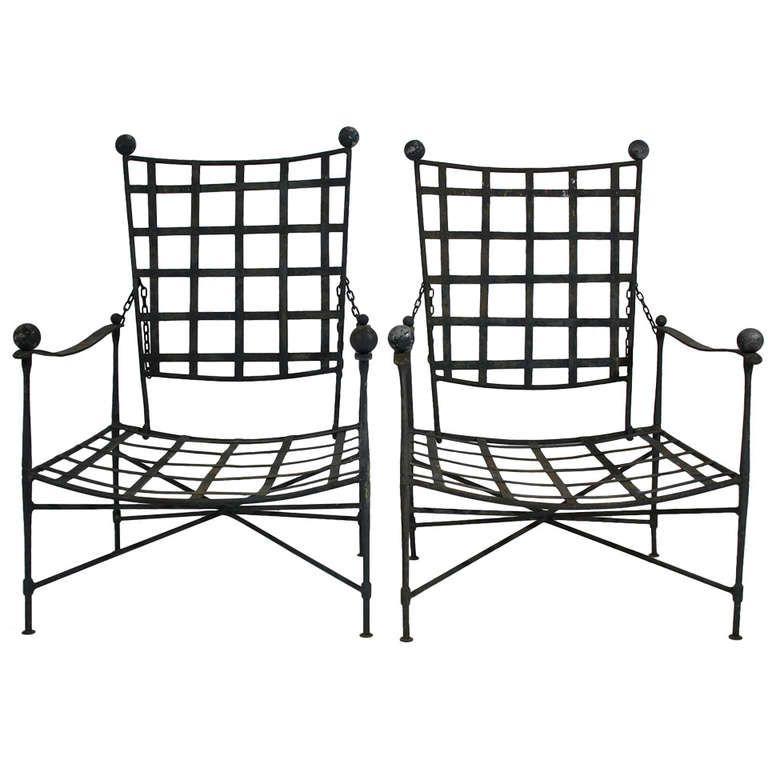 Pair of Salterini Lounge Chairs