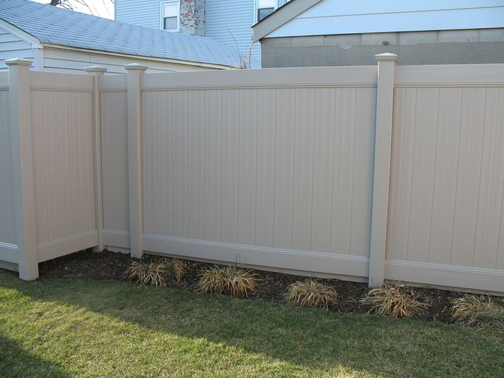 72 6 X 8 Vinyl Solid Privacy Fence Package Color