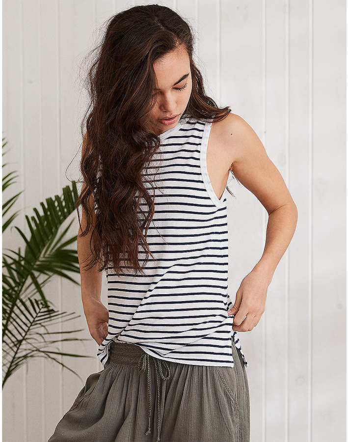 83f8af9bb27cc3 American Eagle Outfitters Men's & Women's Clothing, Shoes & Accessories.  aerie Muscle Tank