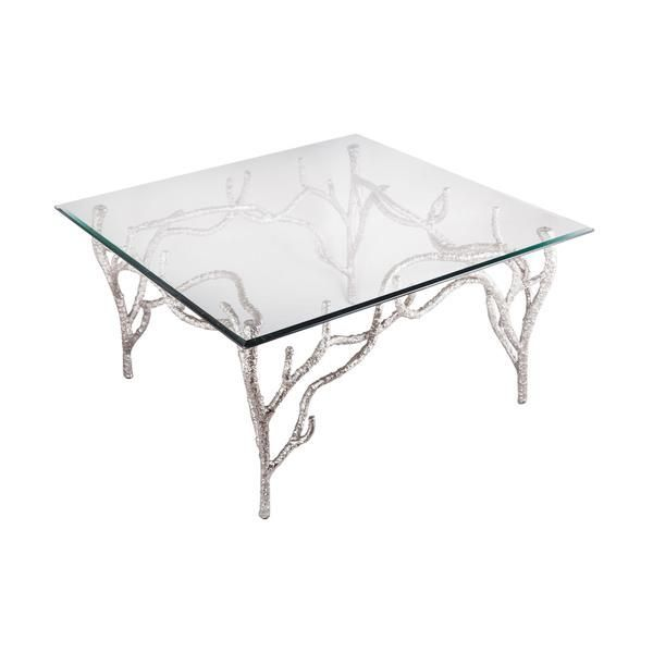 Attirant Silver Tree Branch Coffee Table   Google Search
