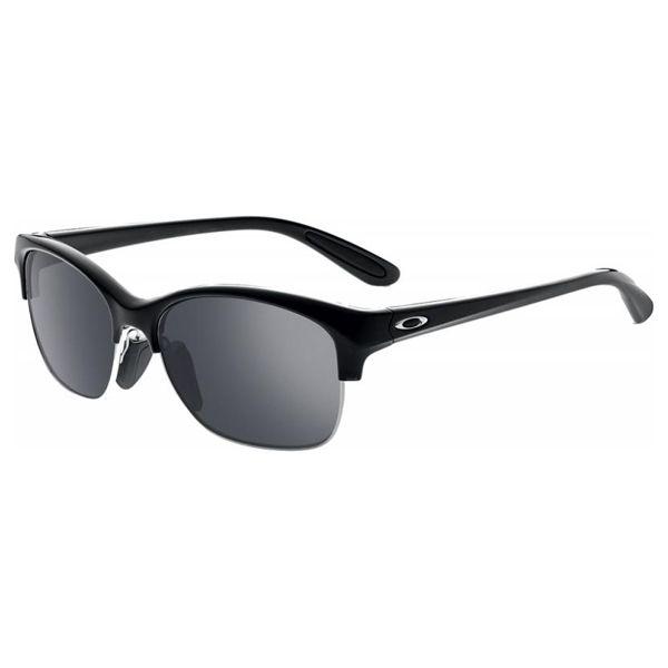 oakley women s rsvp sunglasses polished black w black irid lens rh pinterest com