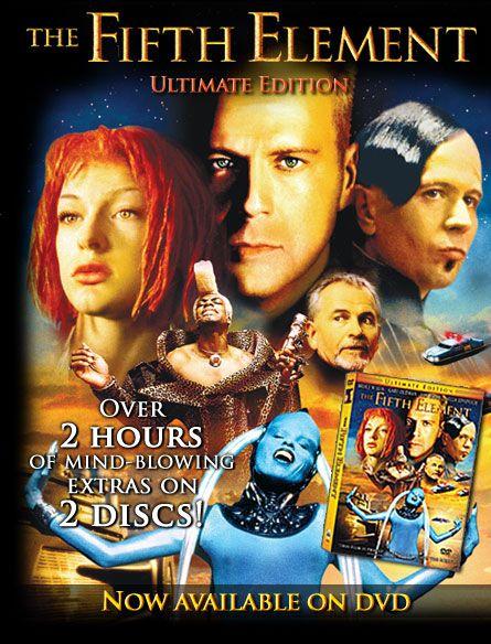 Fifth Element Filmes Capas De Filmes Filmes Anos 80