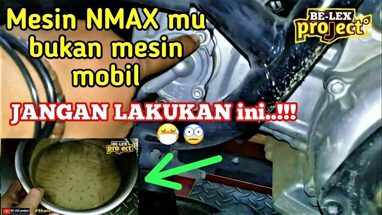 Ganti Seal Water Pum Oil Seal Akibat Pemakaian Air Radiator Yang Salah Di Yamaha Nmax Dan Aerox Sepeda Motor Yamaha Air Sepeda Motor