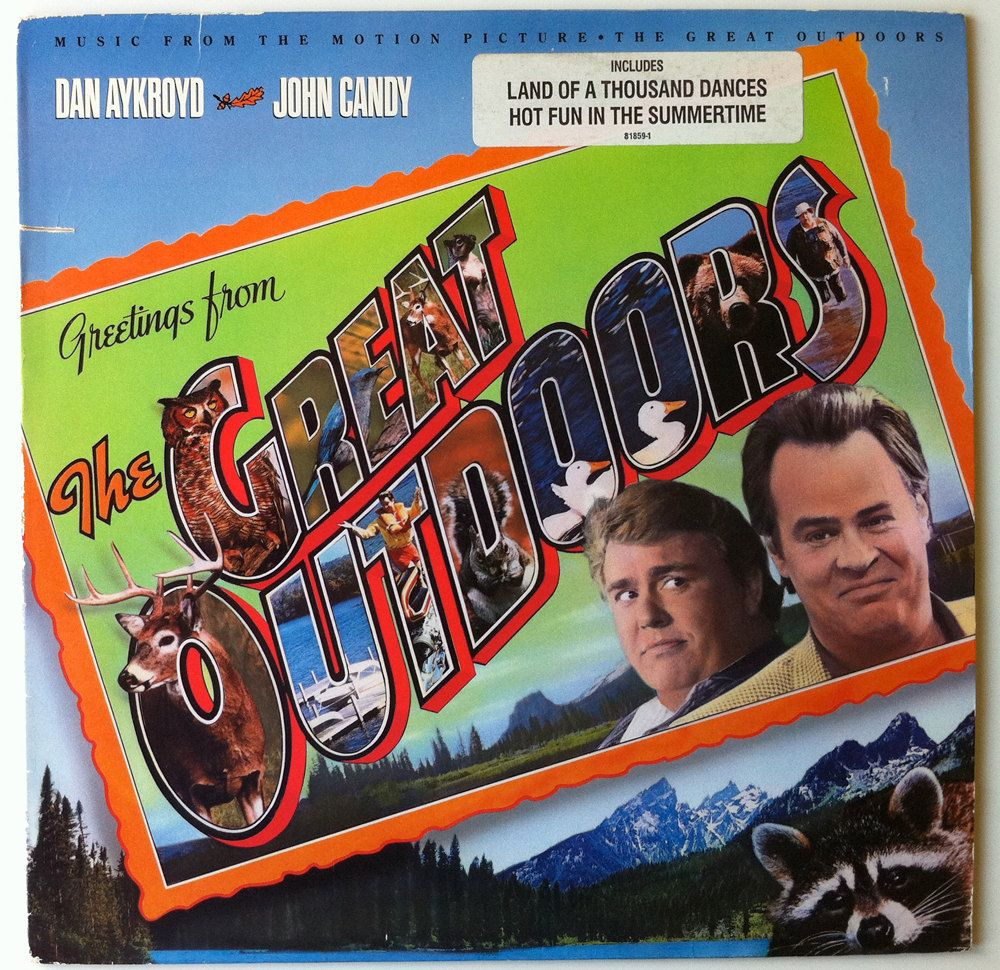 The Great Outdoors Vinyl Soundtrack John Candy Dan Aykroyd Love This Movie John Candy Greatful The Great Outdoors