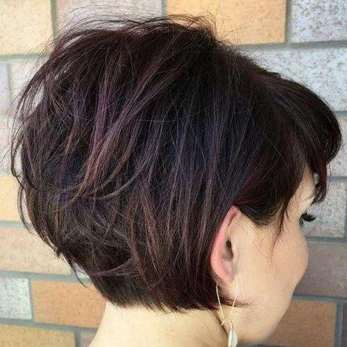50 Glamourose Gestapelte Bob Frisuren Madame Friisuren Madame Frisuren Frisur Dicke Haare Haarschnitt Bob Haarschnitt Kurz