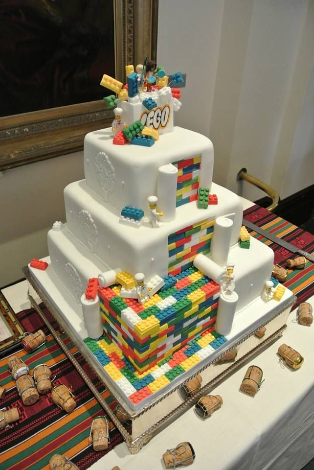 Lego Tastic Wedding Cake