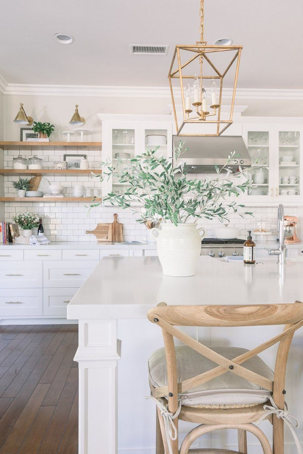 47 Pretty White Kitchen Design Ideas In 2020 With Images White