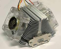 Sibak AT01515B TwinHead Heatsink Review - FrostyTech.com