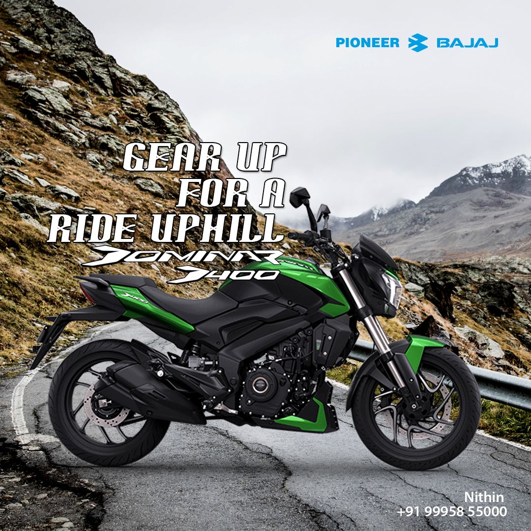 Start Your Expedition With The New Bajaj Dominar 400 From Pioneer