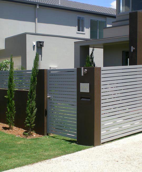 Ezi Slat Fencing Stratco Aluminum Fence Fence Fence