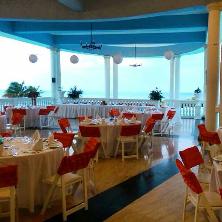 Private Wedding Reception At The Blue Lagoon In Jamaica Grand