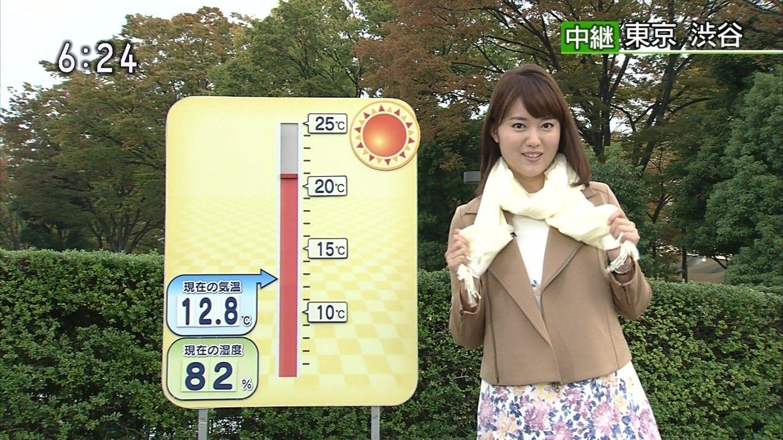 女子アナ画像コレクション: 渡辺蘭 NHKニュースおはよう日本 2014年10月24日