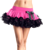 Be Wicked Tulle Petticoat #goth #gothic #punk #punkrock #rockabilly #psychobilly #pinup #inked #alternative #alternativefashion #fashion #altstyle #altfashion #clothing #clothes #vintage #noir #infectiousthreads #horrorpunk #horror #steampunk #zombies #burningmanclothing