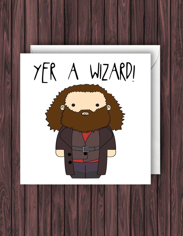 Harry Potter Birthday Card Funny Greetings Geek