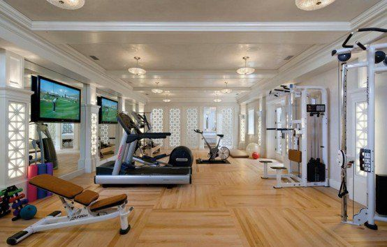 58 awesome ideas for your home gym. it's time for workout | gym