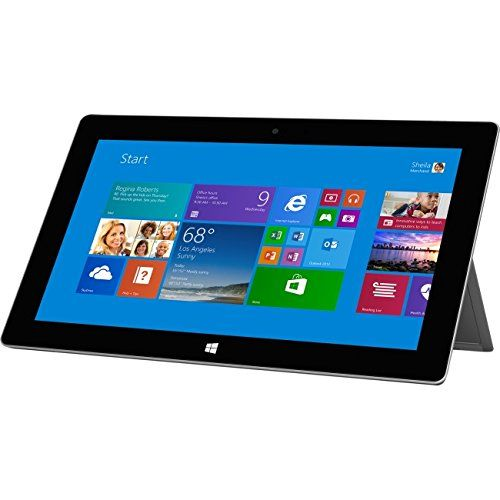 Microsoft Surface 2 64GB Tablet – Windows RT 8.1, 10.6″ 1920×1080 LCD Touchscreen, 64GB Storage, 2GB…