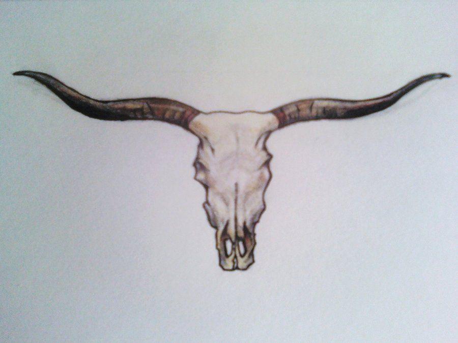 longhornskull longhorn tattoo pinterest tattoo