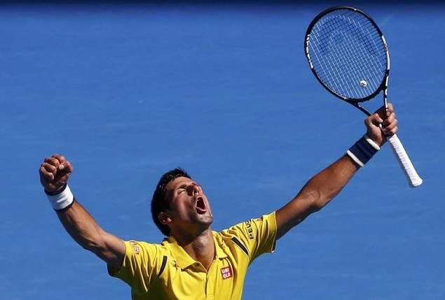 Djokovic Survives Simon Scare To Reach Quarter Finals Sports Tennis Open Latest Golf News