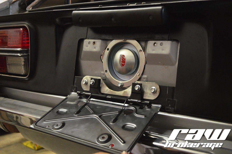 Flip Down License Plate On John S 240z License Plate John Datsun