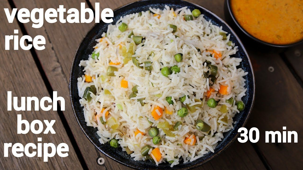 vegetable rice recipe mix veg rice व ज ट बल प ल व quick one pot vegetable rice youtube on hebbar s kitchen chicken recipes id=68063