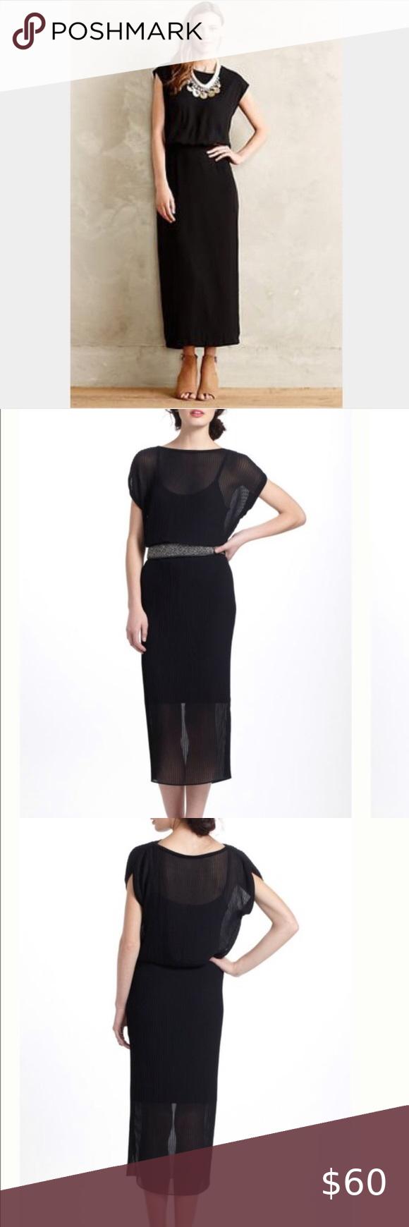 Anthropologie Bordeaux Accordion Pleat Midi Dress Black Pleated Dress Pleated Midi Dress Midi Dress [ 1740 x 580 Pixel ]