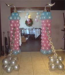 Castle Draw Bridge Princess Theme Balloon Decor Bella Balloons Long Island Balloon Decorations Balloons Balloon Design