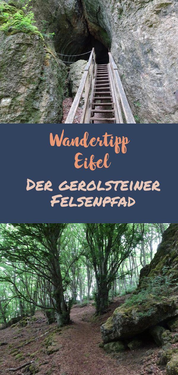 Der Felsenpfad bei Gerolstein - Das fliegende KlassenzimmerFelsenpfad gerolstein