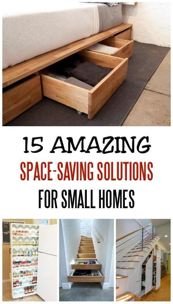15 Amazing Space-Saving Solutions For Small Homes In 2019