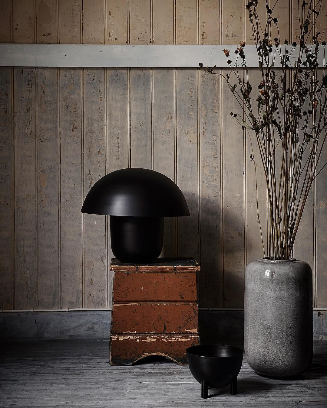 The Perfect Imperfect... Húfa Lamp Black, Antique Bowl - Shop Link ...