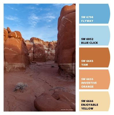 Paint colors from Chip It! by Sherwin-Williams | Ron Pelton Jr. | Blue Canyon