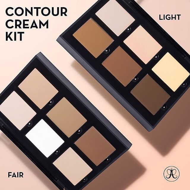 anastasia cream contour kit fair