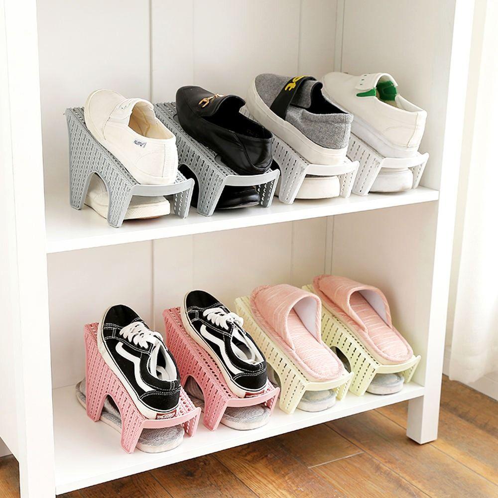 Space saving shoe rack, Shoe rack, Shoe