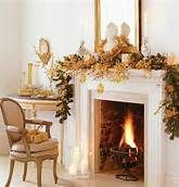 christmas mantel decorations - Bing Images