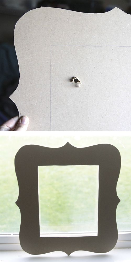 20 best DIY picture frame tutorials | photo frames | Pinterest | DIY ...