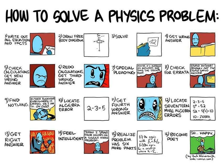 Solving a Physics Problem!
