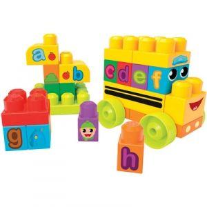 Mega Bloks First Builders ABC Spell School Bus