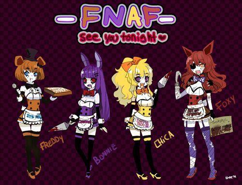 Male Reader x Yandere Female Various - Male Reader x Fem FNAF crew