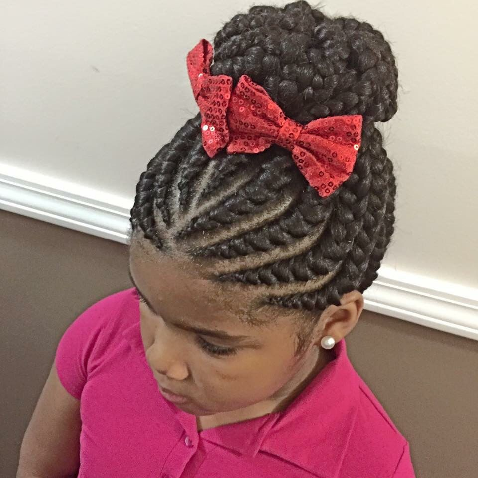 Children Wedding Hair Style: Hair Styles, Black Kids