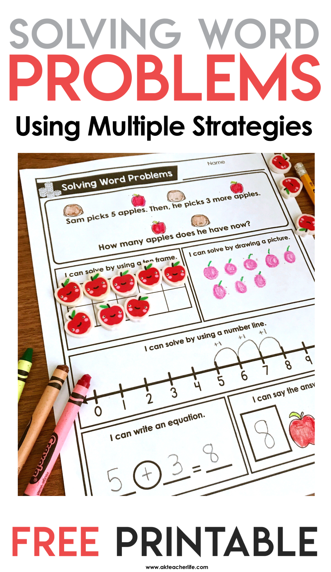 Free Solving Word Problems Using Multiple Strategies