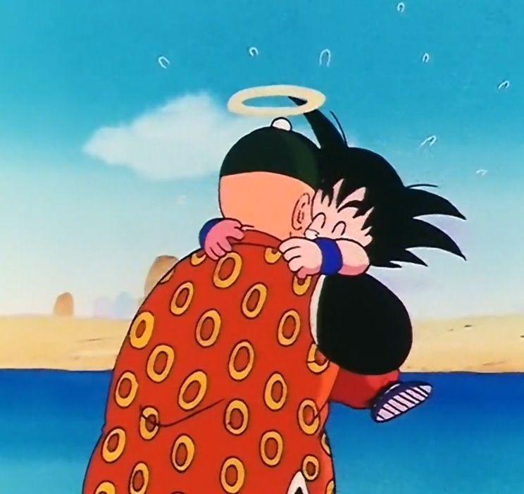 Goku y su abuelito | Dragon ball imagenes | Pinterest ...