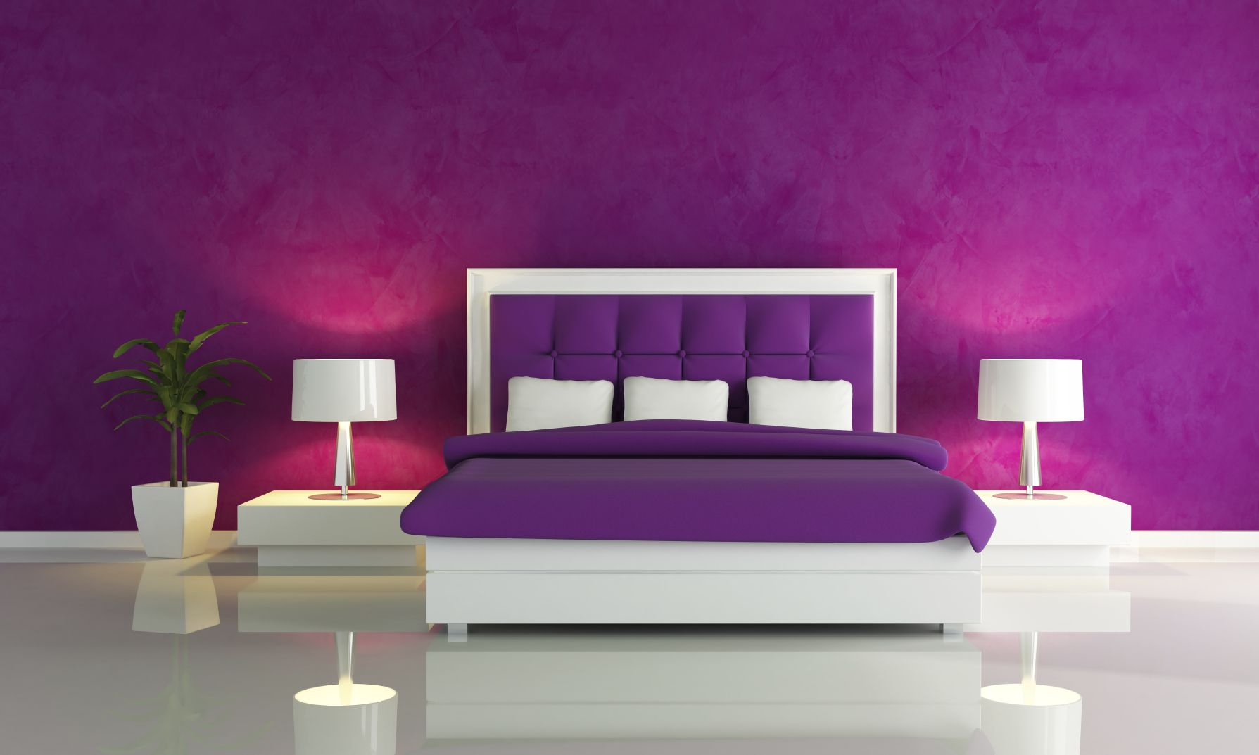 Purple bedroom wall paint ideas home decor master decorating and