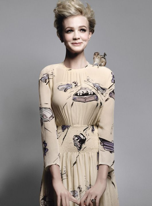 beaf405c09c Carey Mulligan (+ squirrel!). Watch her in: An Education, Wall Street:  Money Never Sleeps, Never Let Me Go, and Drive (with Ryan Gosling!)