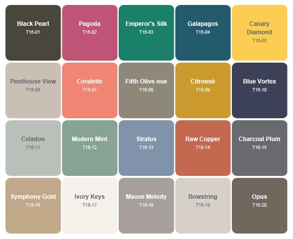 behr paint trends for 2016 favorite paint colors on behr paint chart id=86922