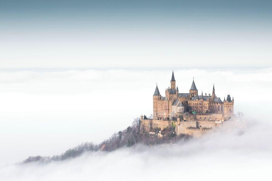 Strangeness And Charm Vicariousplacebo Burg Hohenzollern Im Nebel By Fairy Tales Princess Aesthetic Photo