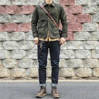 jack jones vintage military field jacket
