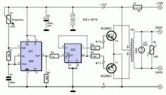 601d351013cecd4bdc5279c0d4a58c53 12v to 220v inverter circuit diagram electronics pinterest