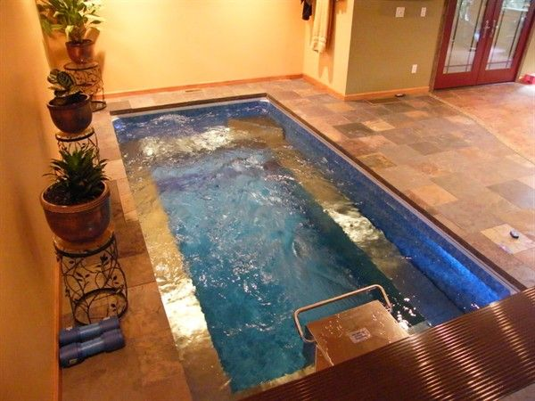 With an indoor Swimming Spa, you can swim all year, hot tub all year ...