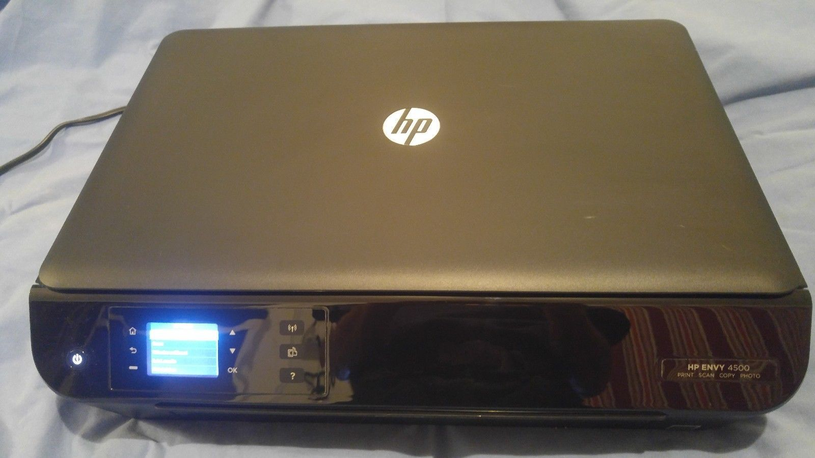 HP Envy 4500 Wireless All In One Color Photo Printer Print Scan Copy