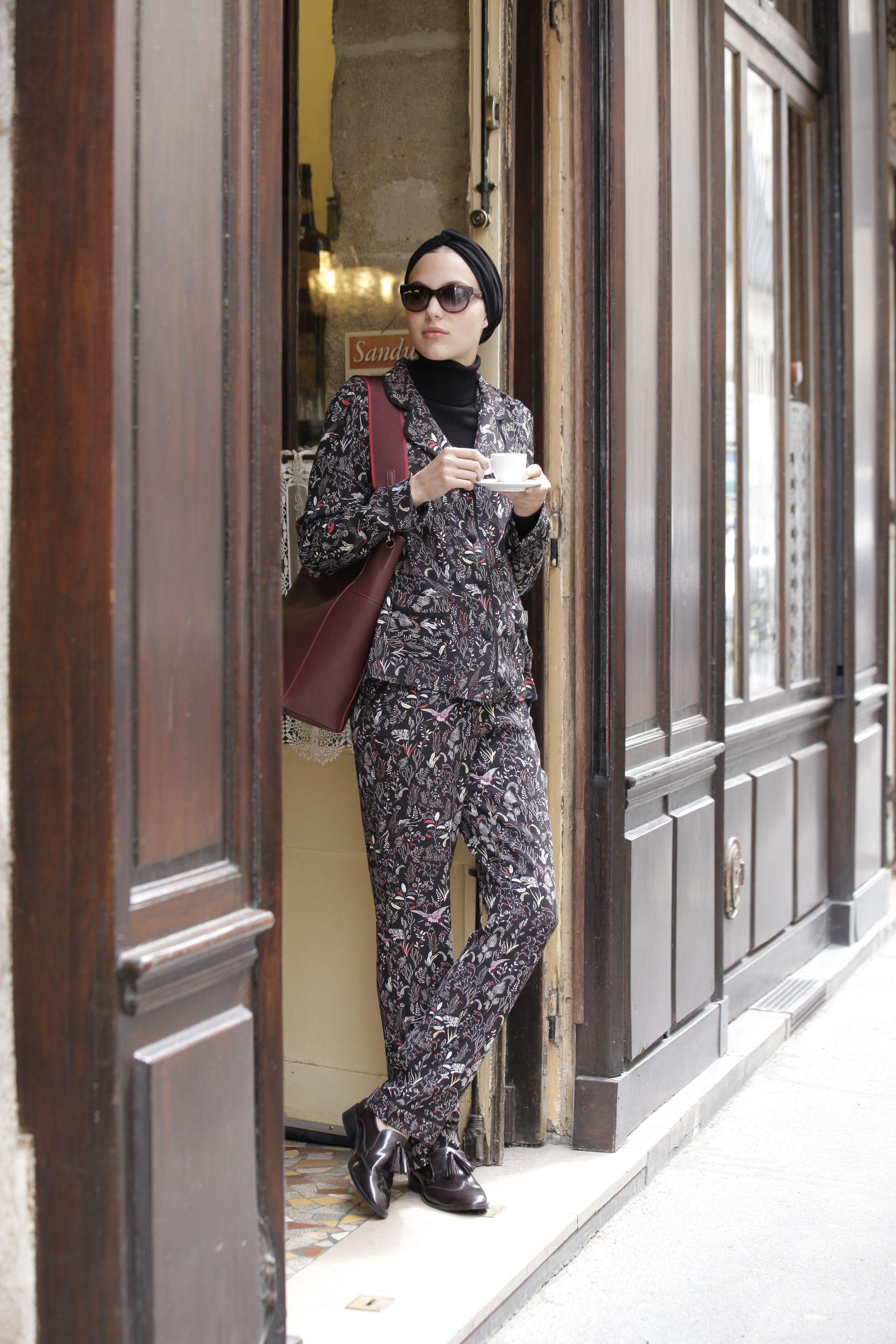 Veste et pantalon coton style pyjama Marie Sixtine 115 € et 95
